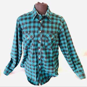 VTG 90s High Sierra Mens Sz Large Flannel Shirt